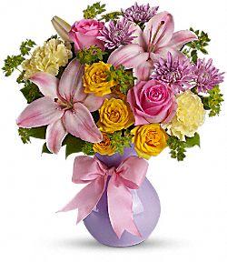 Fleurs Parfaitement pastel