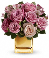 A Radiant Romance by Teleflora Flowers