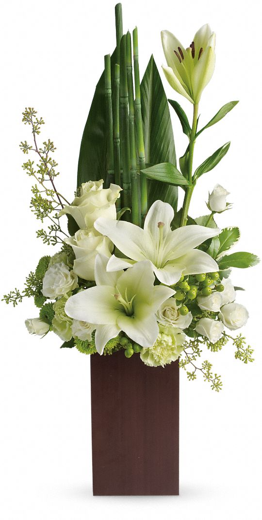 Teleflora's Peace And Harmony Bouquet Flowers