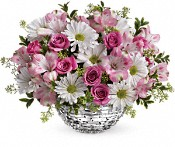 Teleflora's Facets Of Spring Centerpiece Flowers