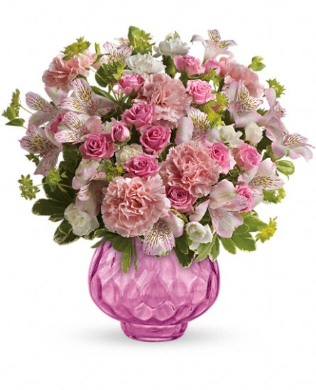 Teleflora's Simply Pink Bouquet Flowers
