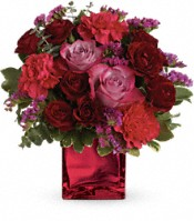 Ruby Rapture Bouquet Flowers