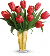 Tempt Me Tulips Bouquet  Flowers