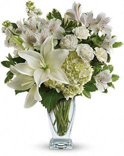 Purest Love Bouquet Flowers