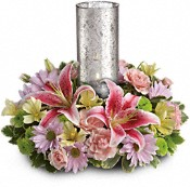 Just Delightful Centerpiece by Teleflora Flowers