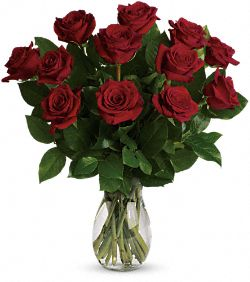 My True Love Bouquet with Long Stemmed Roses Flowers