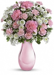 Teleflora's Radiant Reflections Bouquet Flowers