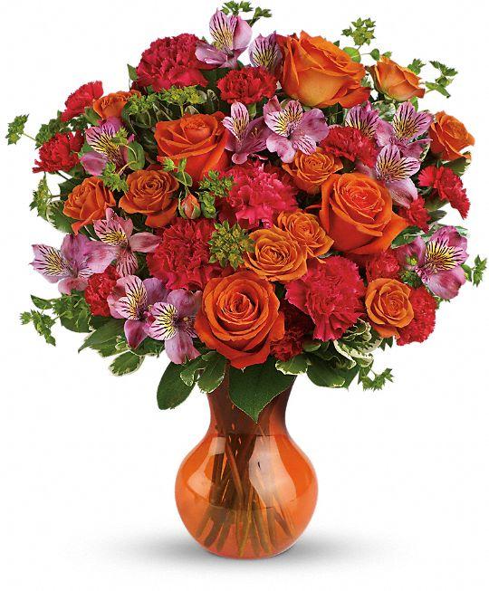 Teleflora's Fancy Free Bouquet Flowers