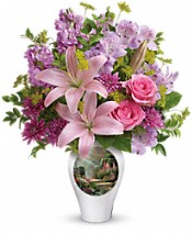 Thomas Kinkade's Glorious Goodness by Teleflora Flowers