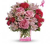 Teleflora's Pink Grace Bouquet Flowers