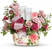 Teleflora's Everything Rosy Gift Bouquet Flowers
