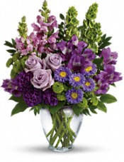 Lavender Charm Bouquet Flowers
