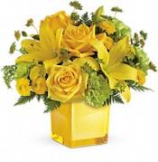 Bouquet de fleurs Humeur ensoleillée
