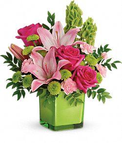 Bouquet de fleurs En amour avec la lime
