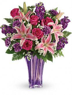 Bouquet de fleurs Lavande luxueuse