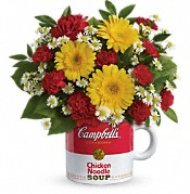 Campbell's Healthy Wishes by Teleflora Flowers