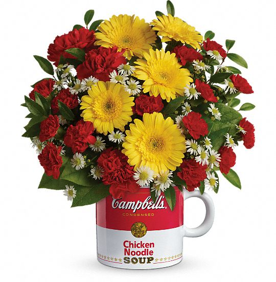 Campbell's Healthy Wishes Bouquet by Teleflora Flowers