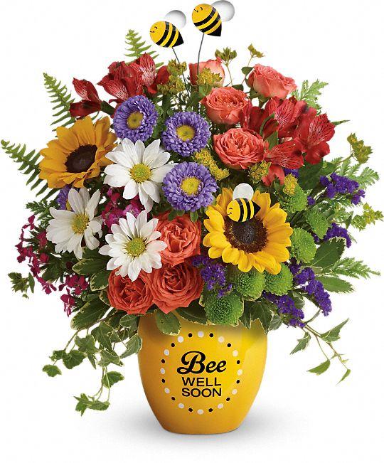 Teleflora's Garden Of Wellness Bouquet Flowers
