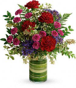 Vivid Love Bouquet Flowers