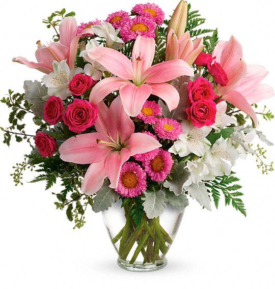 Blush Rush Bouquet Flowers