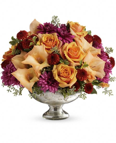 Teleflora's Elegant Traditions Centerpiece Flowers