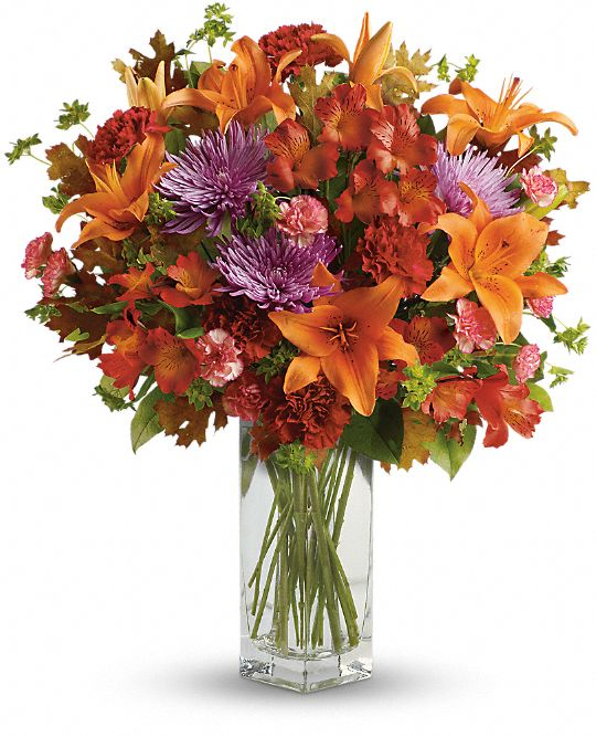 Teleflora's Fall Brights Bouquet Flowers