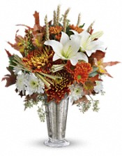 Teleflora's Harvest Splendor Bouquet Flowers