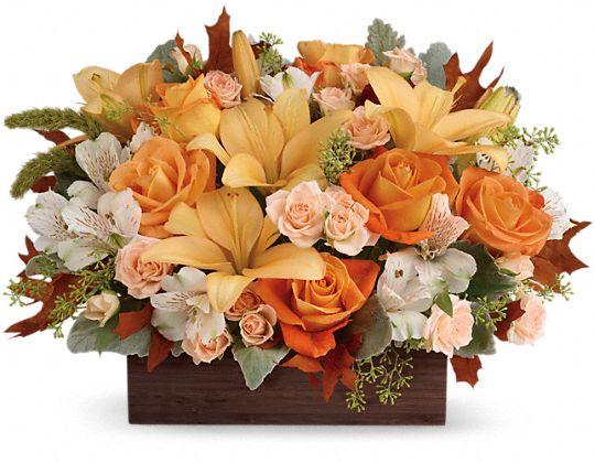 Teleflora's Fall Chic Bouquet Flowers