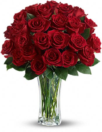 Love and Devotion - Long Stemmed Roses
