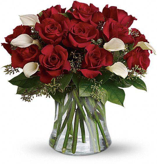 Be Still My Heart - Dozen Red Roses Flowers