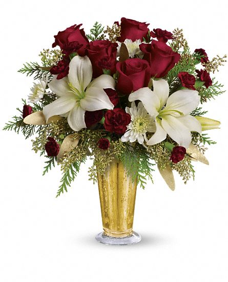 Golden Gifts by Teleflora Flowers