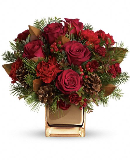 Warm Tidings Bouquet by Teleflora Flowers