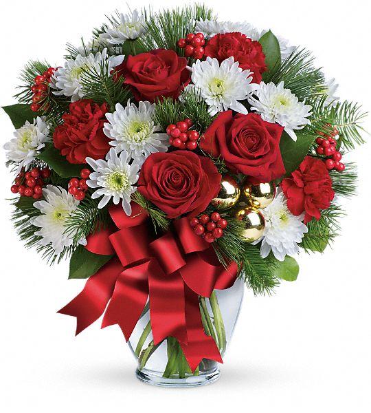 Merry Beautiful Bouquet Flowers