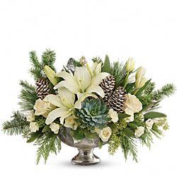 Winter Wilds Centerpiece Flowers