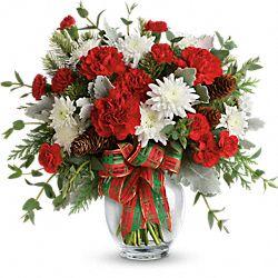 Bouquet de fleurs Brillance des fêtes