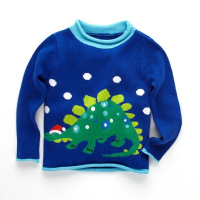 Kids' Dino Sweater