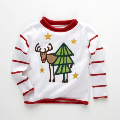 Kids' Moose Sweater