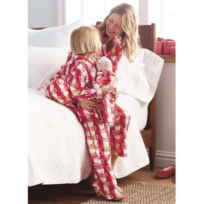 Mother/Daughter/Doll Pajamas – Tea Time