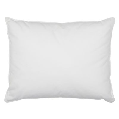 Firm, 95% Feather/5% Down Medium Boudoir Pillow, 16 x 20