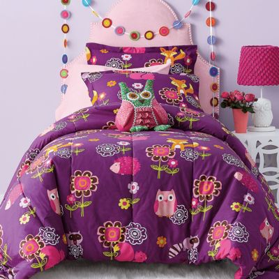 Garden Friends Percale Fitted Sheet