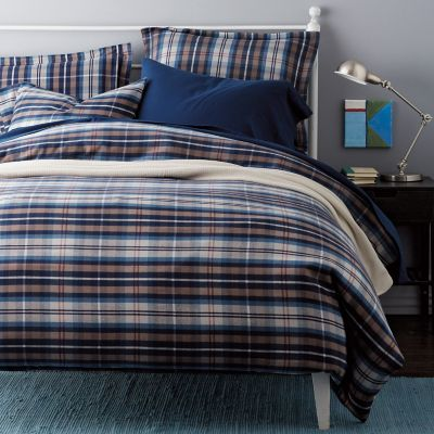 Sussex Plaid Flannel Bedding