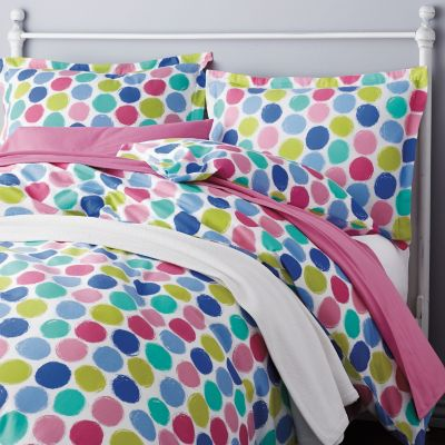 Dot Dot Dot Flannel Bedding
