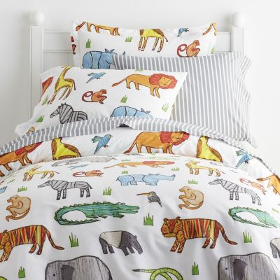 Zoology Percale Bedding