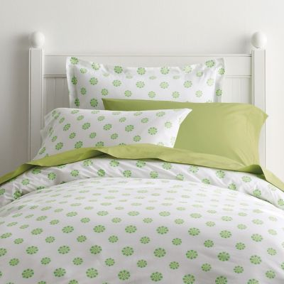 Ellie Kiwi Dot Percale Bedding