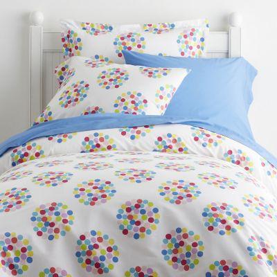 Confetti Dot Percale Bedding