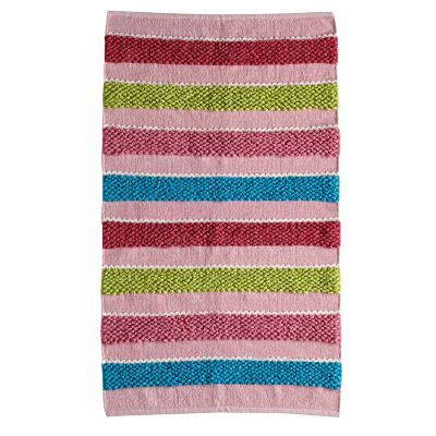 Pom Pom Stripe Rug / Rug Comfort Grip