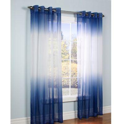 Ombre (Serenity) Grommet Window Panels