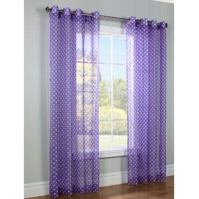 Dots Grommet Window Panels