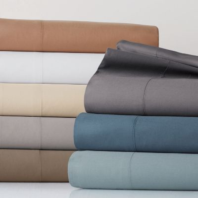 Legends® Luxury 500 Count Solid Sateen Bedding