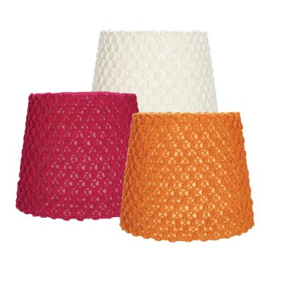 Bubble Knit Lamp Shade